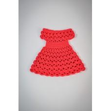 """Платье """"Зефирка"""", цвет красный"""