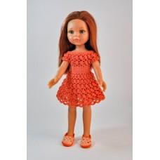 """Платье """"Зефирка"""", цвет оранжевый"""